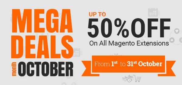 Mega Deal Month Octobe