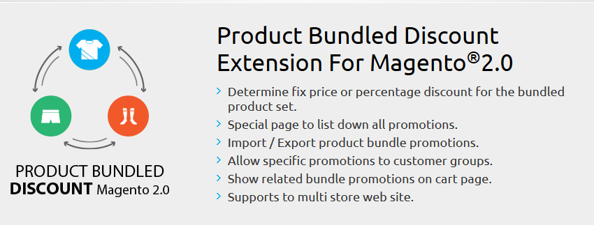 Product Bundled Discount - Magento 2